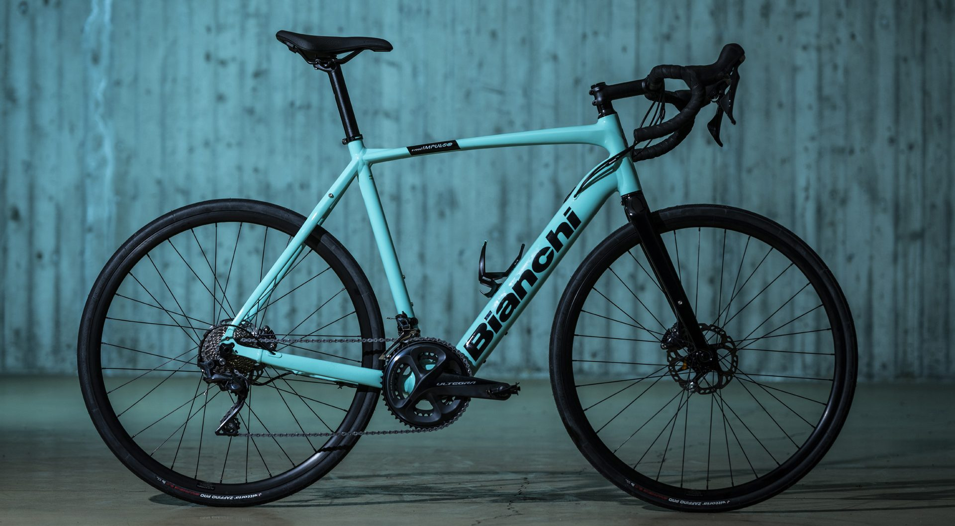 Bianchi E IMPULSO aluminium frame