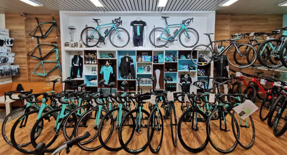 Bianchi showroom bratislava