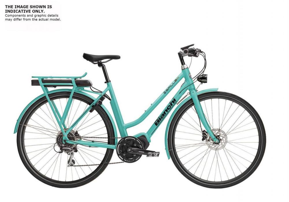 Bianchi E-Spillo Luxury Lady Altus 9sp