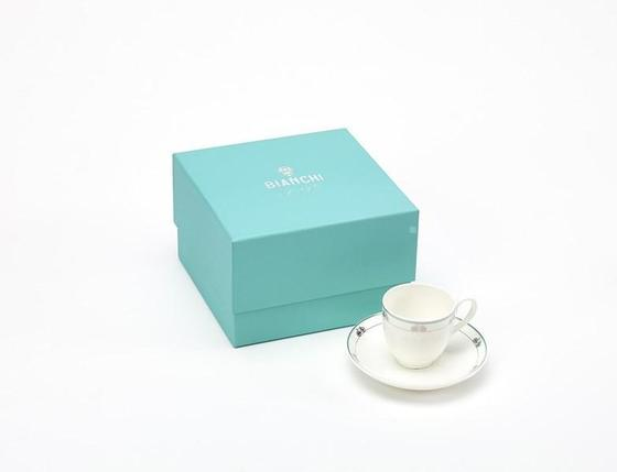 Bianchi Espresso cup & saucer