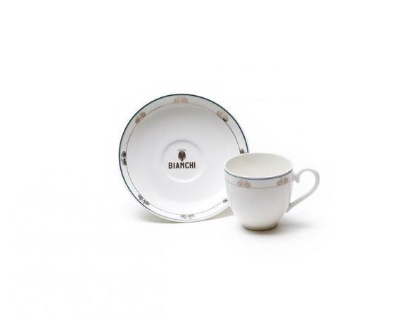 Bianchi Espresso šálka a podšálka