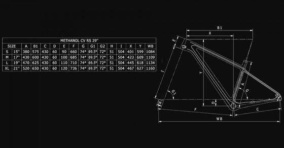 Bianchi Methanol CV RS 9.3 – XT 1x12sp