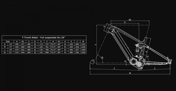 Bianchi T-Tronik Rebel 9.1 – XT/Deore 1x12sp