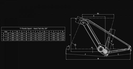 Bianchi T-Tronik Sport TRK 9.2 – Altus 1x9sp