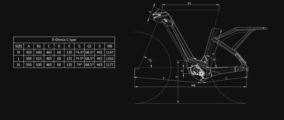 Bianchi E-OMNIA C TYPE NEXUS 5SP