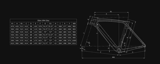 Bianchi Oltre XR4 Disc Ultegra Di2 12sp