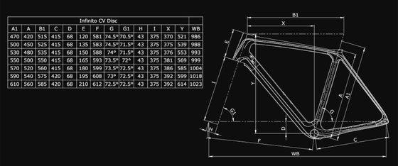 Bianchi Infinito CV Disc Rival eTap AXS 12sp