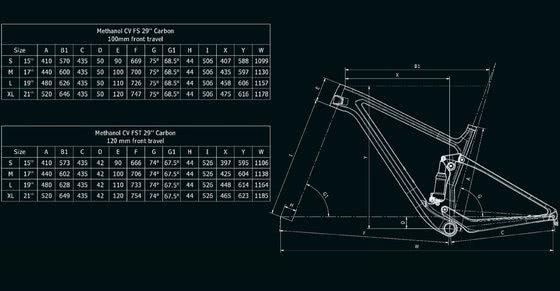 Bianchi Methanol CV FS 9.3 - XT/SLX 1x12sp