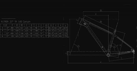 Bianchi Nitron 9.2 - XT/SLX 1x12sp