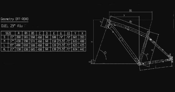 Bianchi Duel 29S - Alivio 2x9sp