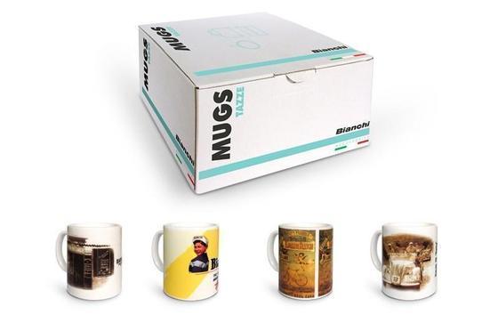 Bianchi 4 mugs set