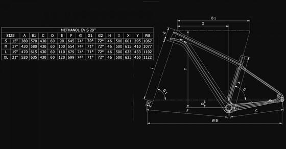 Bianchi Methanol CV S 9.1 – GX EAGLE 1X12SP
