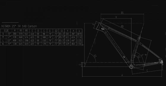 Bianchi Nitron 9.3 – XT/SLX 1x12sp