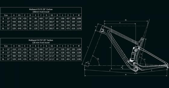 Bianchi Methanol CV FS 9.3 – XT/SLX 1x12sp