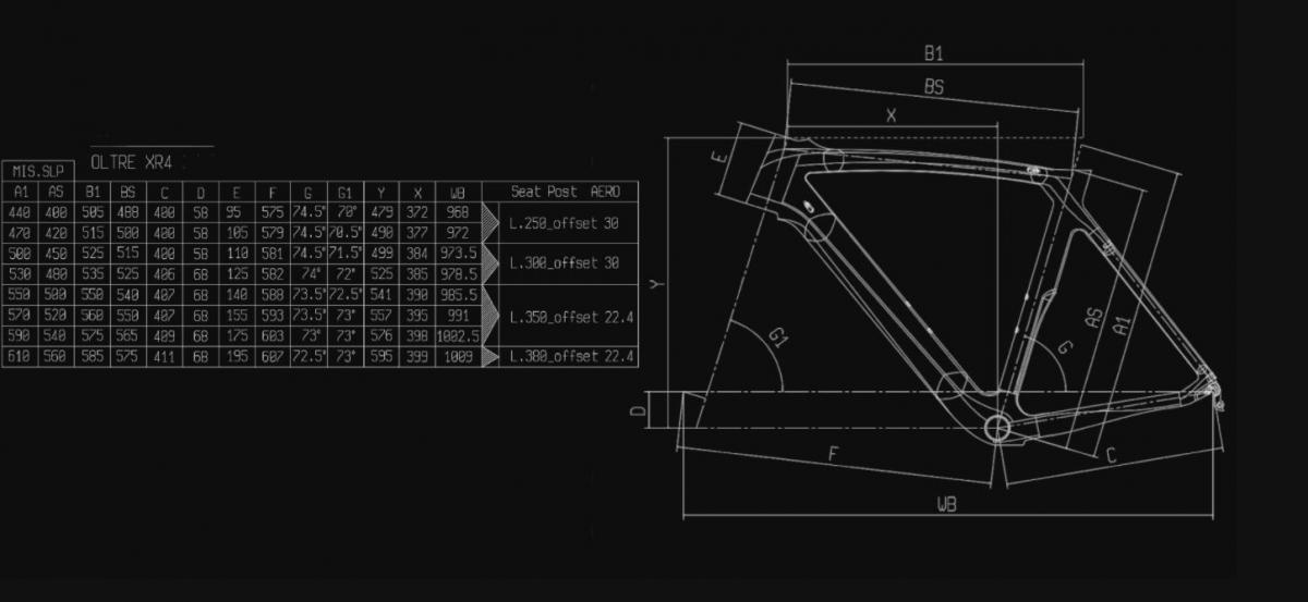 Bianchi Oltre XR4 CV Frame Kit