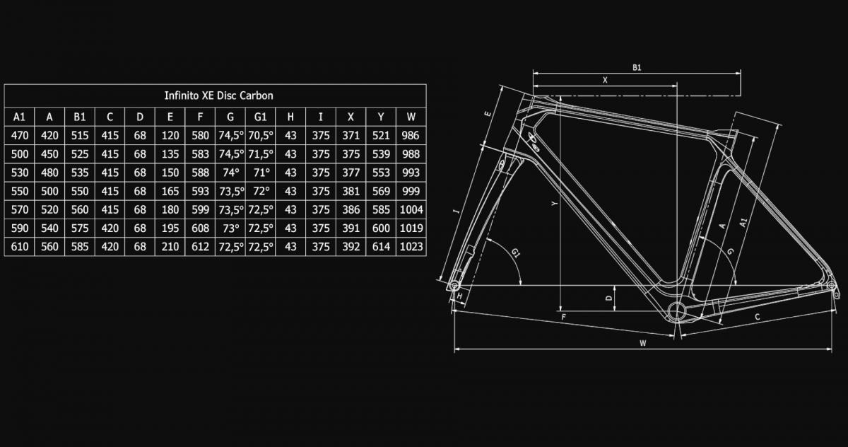Bianchi Infinito XE 105 11sp Compact